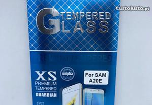 Película de vidro temperado de Samsung Galaxy A20e