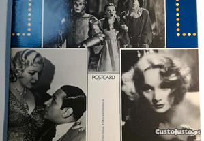 Movie Star photo postards, 24 fotos vintage