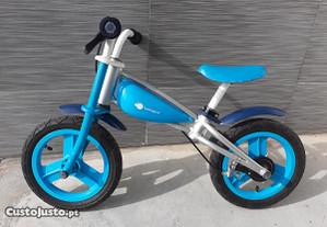Bicicleta de criança Velobike Blue 12 Imaginarium