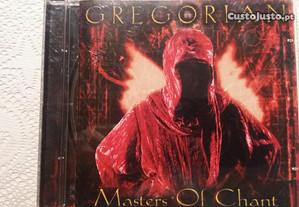 Cd música gregorian masters of chant novo