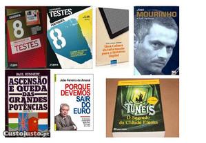 Livros Vendidos EM SEPARADO Lote 7 PS Bom Estado