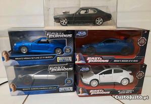 Miniaturas Fast Furious