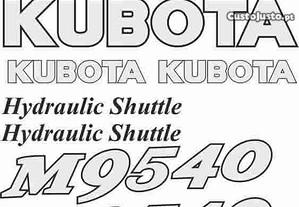 Kit autocolantes Kubota M9540