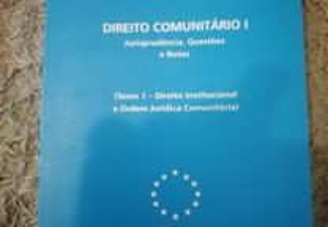 Direito comunitário I