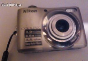 maquina fotografica Nixon coolpix