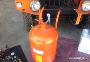 Máquina de decapar por jato de areia de 90 litros