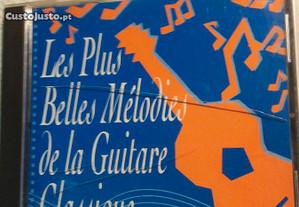 Cd música les Plus belles melodies de lá guitarra