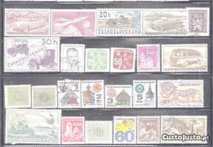 Selos - Checoslováquia Colecionaveis