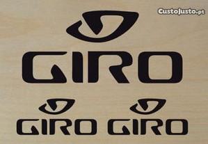 autocolantes capacete marca Giro