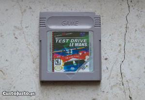 Game Boy: Test Drive Le Mans