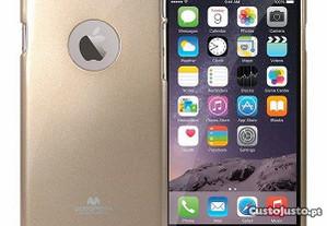 Capa Silicone Traseira Para Xiaomi Mi A1 Dourado