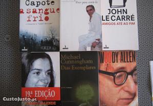 Livros de Romances de Grandes Escritores - P. Gr.