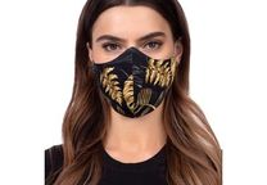 Profiled Face Mask - Golden Jungle