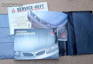 Manual instruções Mitsubishi Carisma Alemão