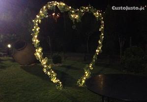 Coração c/s iluminação