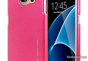 Capa Silicone Traseira Para Samsung Galaxy A5 Rosa