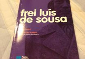 1 Livro Almeida Garrett Frei Luis de Sousa-c/novo