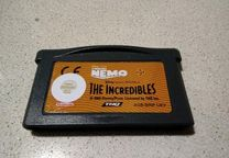 Finding Nemo + The Incredibles - Gameboy