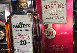 Whisky James Martin's 20anos,75cl.