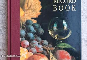 Livro de registo de vinhos
