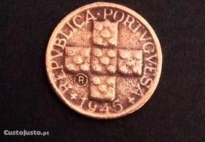 Moeda de10 Centavos1945 com 2 R Unica