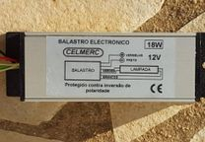 Balastro 18W-12V para veiculos