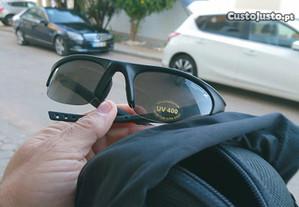 Óculos de sol estilo Desportiva 100% NOVO