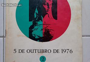 5 de Outubro de 1976 - conferências no palácio da