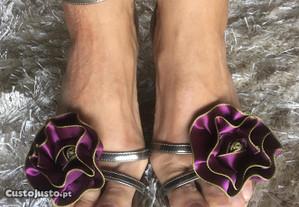 Sandálias de cunha Luís Onofre (tam 37)