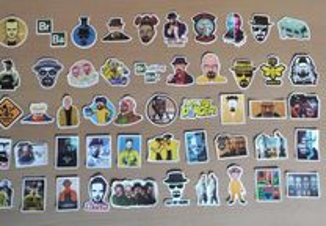 Stickers Série Breaking Bad 50 Autocolantes