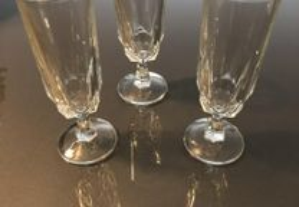Conjunto flutes cristal