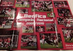 Poster S L Benfica Campeão Nacional 2009/2010