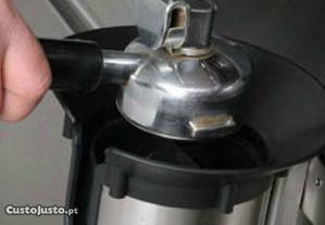 Tulha Silenciosa, extratora borras de café