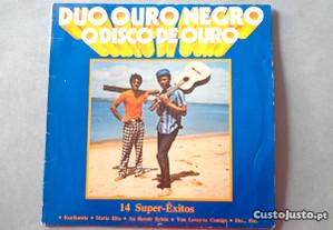 Disco vinil LP - Duo Ouro Negro - O disco de ouro