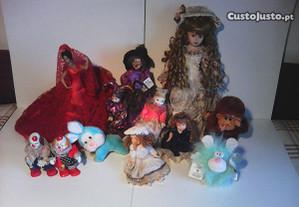 Jarras e bonecas