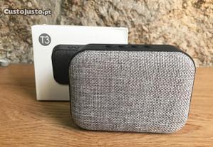 Coluna Bluetooth com USB / Micro SD / Rádio FM