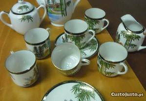 Serviço café de porcelana chinesa
