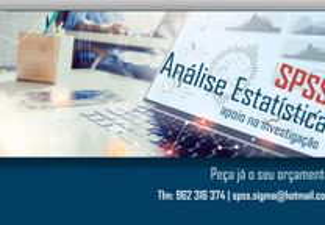 Trabalhos de estatística com SPSS: Licenc., Mestra