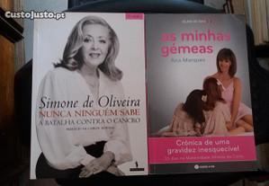Obras de Simone de Oliveira e Ana Marques