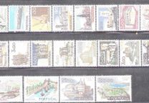 Selos Afinsa 1126 a 1145 Serie Completa