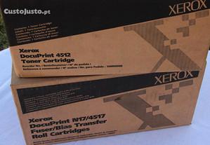 Xerox - Docuprint 4512 - toner e fusor