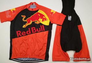 Equipamento Ciclismo Red Bull