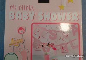 Decoração para Baby Shower Menina Novo (BH)
