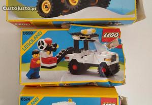 Lego carros 6524, 6659 e 6675