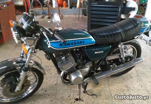 Kawasaki H1 500 Mach 3. 1975