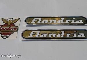 Flandria Apollo Autocolants emblemas stickers