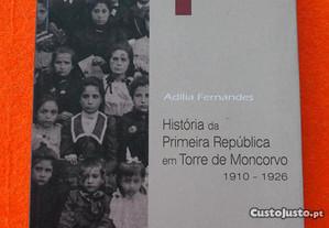 História da Primeira República em Torre Moncorvo