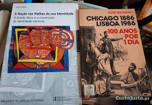 Obras de Luis Cunha e José Brandão