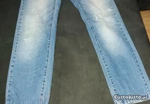 Calças de ganga marca DESIGUAL n.36