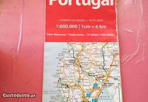 Mapa de Estradas de Portugal Turinta Bolsomap 12ª